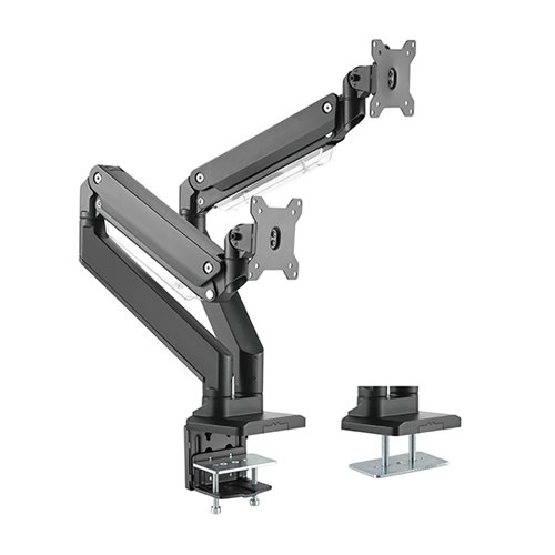 DUAL MONITOR HEAVY DUTY MONITOR STAND
