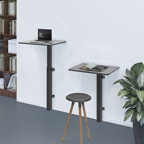 wall mount laptop table