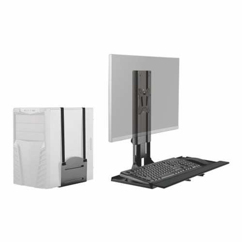 wall mount computer station