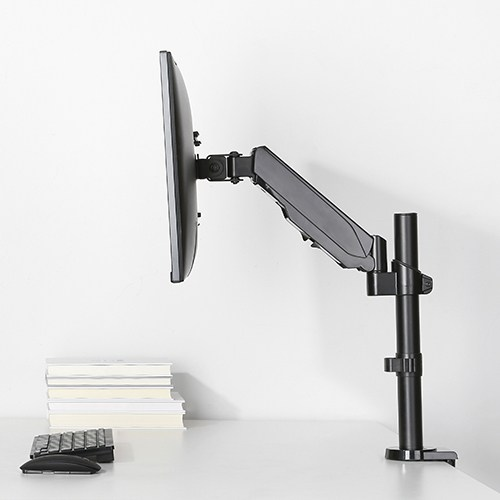ADJUSTABLE SINGLE MONITOR STAND